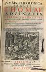 Summa Theologiae: Title Page