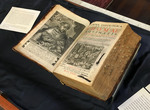 The 1631-1632 Edition of the Summa Theologica: Wooden Exhibit Case - Photo 4 by Providence College Special & Archival Collections