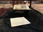 The 1631-1632 Edition of the Summa Theologica: Wooden Exhibit Case - Photo 5 by Providence College Special & Archival Collections