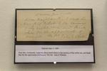 John G. Whittier Letter - Danvers, June 11, 1888