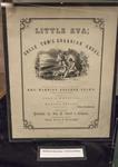 Little Eva; Uncle Tom's Guardian Angel - Abolitionist Sheet Music