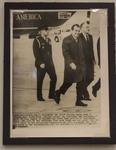 Photograph of John V. Brennan Following Behind President Richard Nixon