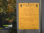 Freshman Parents' Weekend Hockey Flyer: Providence College Friars Vs. Boston University Terriers