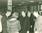 William Paul Haas, O.P. (center) Speaking With Students And Family