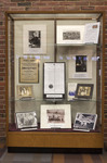 Germans in Rhode Island Exhibit Case by Providence College Special & Archival Collections