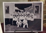 """Photograph of Members of the Women's and Men's Gymnastics Teams of the """"Eintracht"""" Society of Pawtucket"""