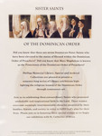 Sister Saints of the Dominican Order: One Sheet