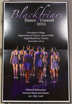Blackfriars Dance Concert Poster