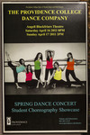 The Providence College Dance Company: Spring Dance Concert Poster