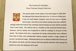 Vatican Stamp Collection - Descriptive Text