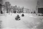 Guzman Hall (Left) and Aquinas Hall (Right) - January 1944