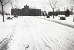 Harkins Hall and Aquinas Hall (right) - January 1944