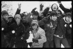 Student Snowball Fight