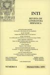 INTI Numéro 9 - Front Cover