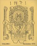 Inti No. 1, Otoño 1974, Cover