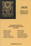 Inti No. 18-19, Otoño 1983, Cover