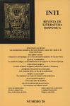 Inti No. 20, Otoño 1984, Cover