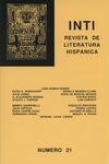 Inti No. 21, Primavera 1985, Cover