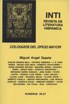 Inti No. 26-27, Otoño 1987, Cover