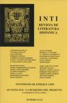 Inti No. 32-33, Otoño 1990, Cover