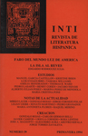 Inti No. 39, Primavera 1994, Cover