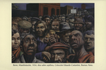 Manifestación, óleo sobre arpillera, Coleccíon Eduardo Constantini, Buenos Aires (1934)