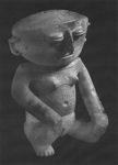 Feminine, anthropomorphic figure.  200 B.C. – 1600 A.D.  Zenú.
