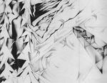Homenaje a la poesía, boceto previo, panel Gabriela Mistral, Vincente Huidobro