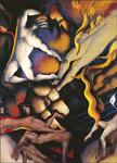 Homenaje a la poesía, panel Pablo Neruda