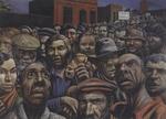 Manifestación, óleo sobre arpillera, Colección Eduardo Constantini, Beunos Aires (1934)