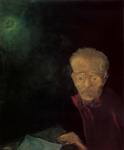 <em>Autorretrato alrededor de los 50 años, Self portrait around 50 years old</em>.