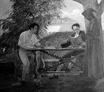 """La lección de Andrés Bello"" (1921) de Tito Rojas (Casa Natal del Libertador, Caracas)."