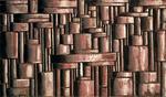Joaquín Torres-García, <em>Estructura abstracta tubular</em> (Abstract tubular structure)