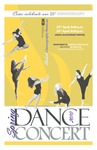 Spring Dance Concert 2010 Poster by Providence College and John Vaghi