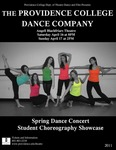Spring Dance Concert 2011 Poster by Providence College and Kelly Mulhern