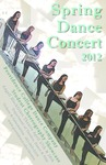Spring Dance Concert 2012 Poster by Providence College and Claire Chambers