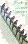 Spring Dance Concert 2012 Poster