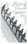 Spring Dance Concert 2012 Playbill
