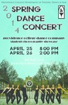 Spring Dance Concert 2014 Poster by Providence College and Logan Bruneau