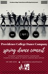 Spring Dance Concert 2017 Poster by Providence College and Monica Houghton