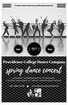 Spring Dance Concert 2017 Playbill by Providence College