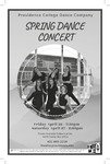 Spring Dance Concert 2019 Playbill by Providence College