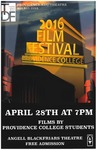 Student Film Festival 2016 Poster by Providence College