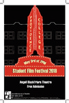 STUDENT FILM FESTIVAL 2018 PLAYBILL by Providence College