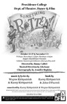 Something Rotten! Playbill by Providence College