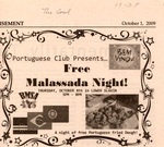 The Cowl: Portuguese Club Presents - Free Malassada Night!