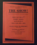 Flyer: The African-American Society Presents...The Show!