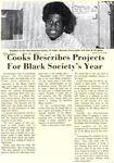The Cowl: Cooks Describes Projects For Black Society's Year