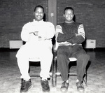 Afro-American Club: Gregory E. Williams '92 and Jerome Wesson '92
